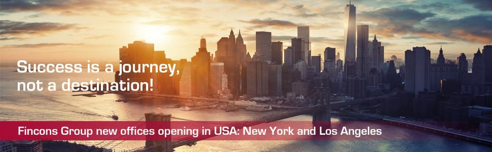 Fincons Group opens new offices in New York and Los Angeles
