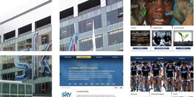 Sky Italy - New Corporate Site