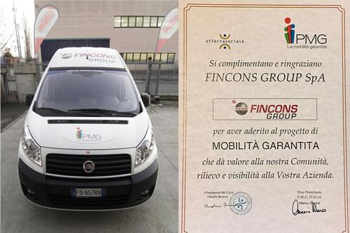 Fincons Group sponsors guaranteed mobility project