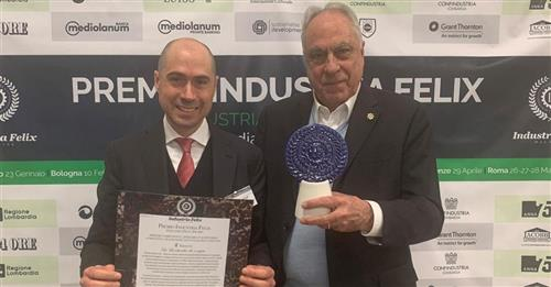 Fincons Spa to receive Industria Felix award