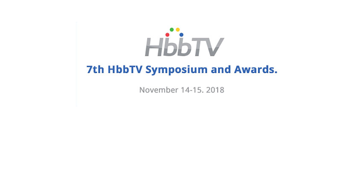 Fincons Group at HbbTV Symposium 2018