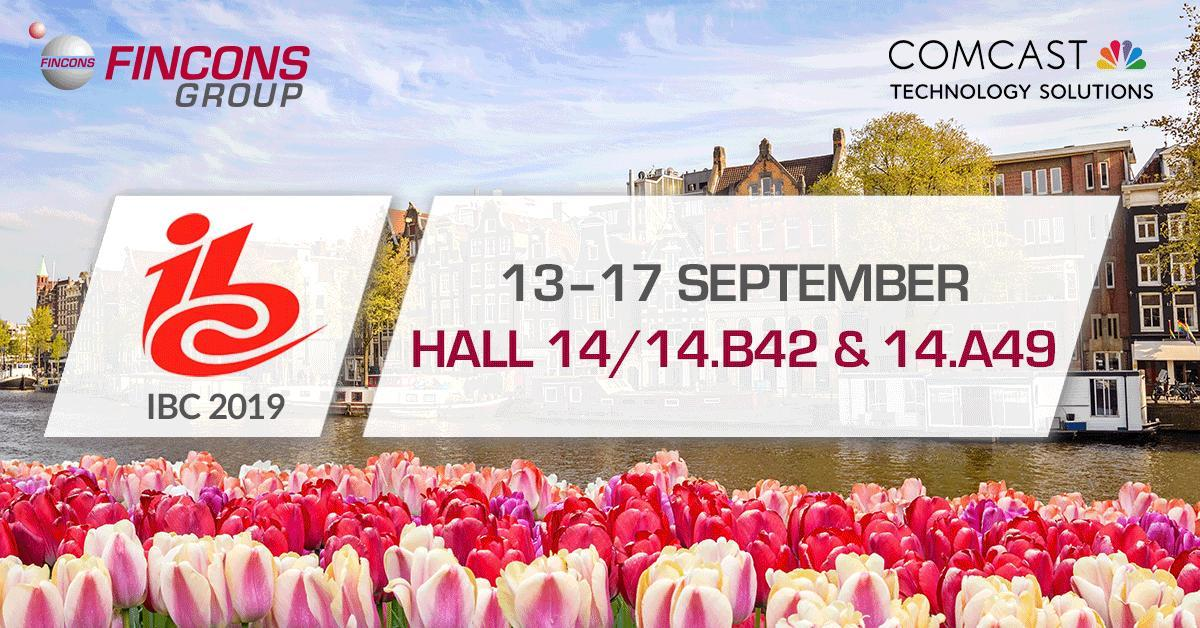 Fincons exhibits at IBC to showcase the latest developments in Hybrid TV