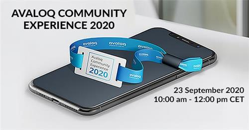 Fincons sponsors the Avaloq Community Experience 2020