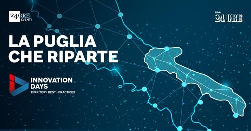 Watch CEO Michele Moretti speak at the Il Sole 24 Ore Puglia Innovation Days