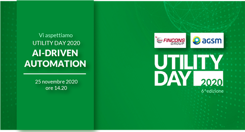 Fincons Group and AGSM describe their path towards automation at Utility Day 2020