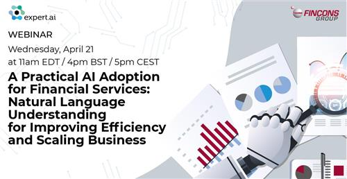 Webinar session – A practical AI Adoption for Financial Services