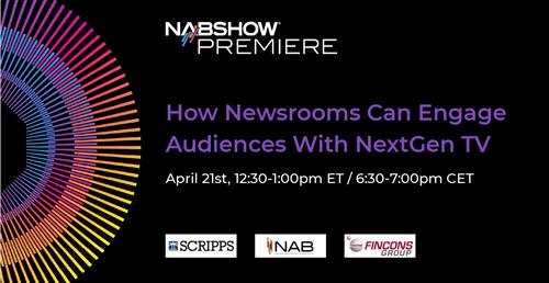 Learn how to detect fake news during our session at the NAB Show Premiere