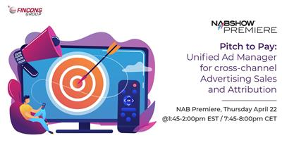 Unified Ad Manager presented at NAB Show Premiere